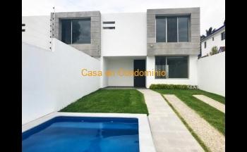 Casa estilo moderno en Lomas de Cuernavaca